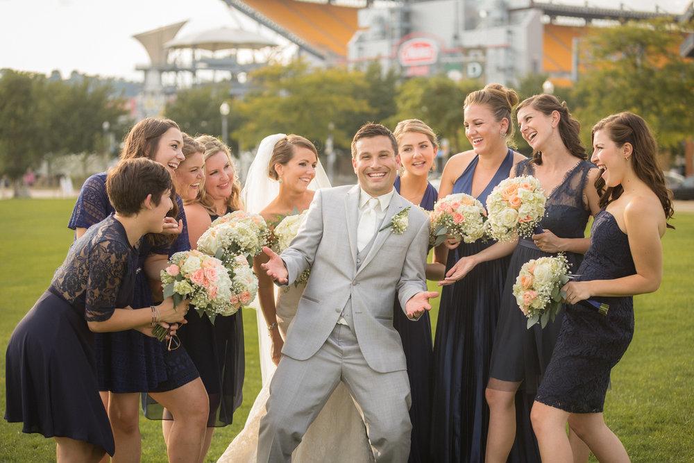 Heinz Field Wedding Photographer