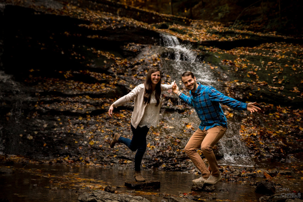 McConnell's Mills Engagement Photographer-18.jpg