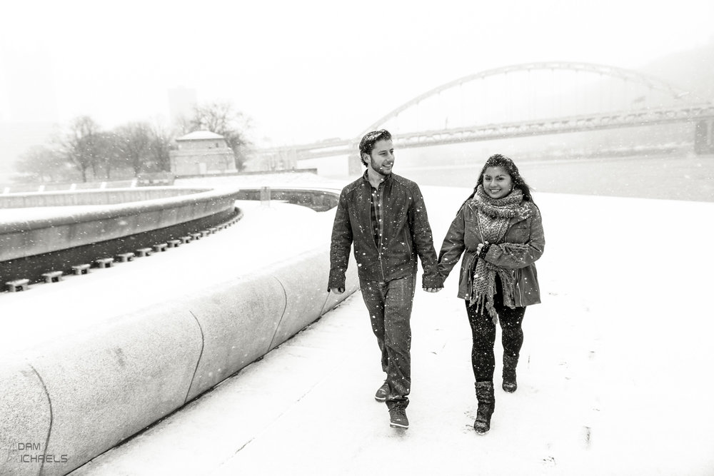 Winter Snow Pittsburgh Engagement-39.jpg