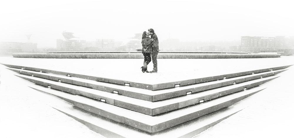 Pittsburgh Snow Engagement.jpg