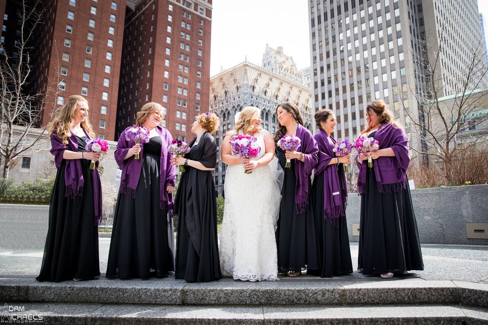 Mellon Square Pittsburgh Bride Wedding Portraits2111.jpg