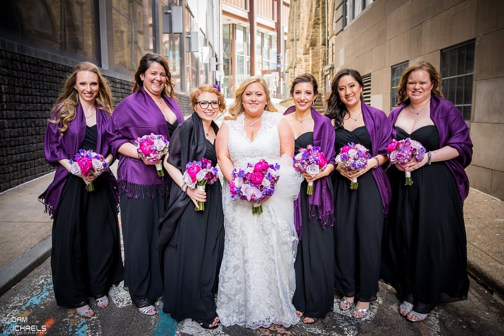 Mellon Square Pittsburgh Bride Wedding Portraits2115.jpg