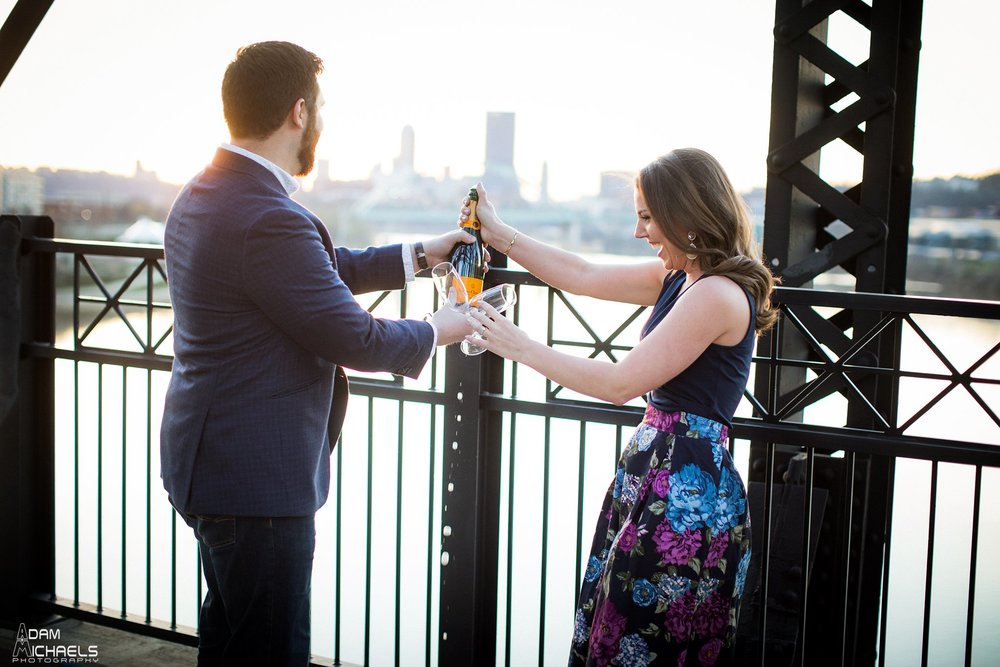 Hot Metal Bridge Sunset Engagement-22.jpg