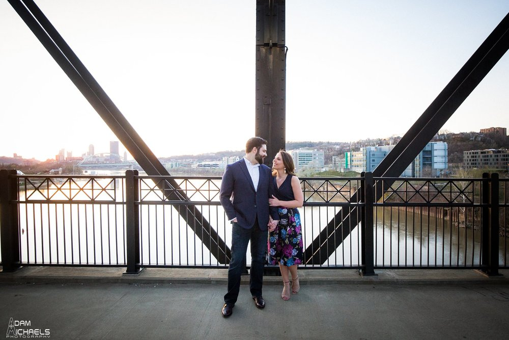 Hot Metal Bridge Sunset Engagement-27.jpg