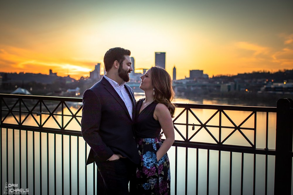 Hot Metal Bridge Sunset Engagement-35.jpg