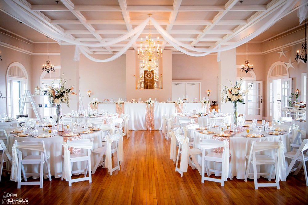 Conneaut Lake Hotel Wedding Reception Setup_2389.jpg