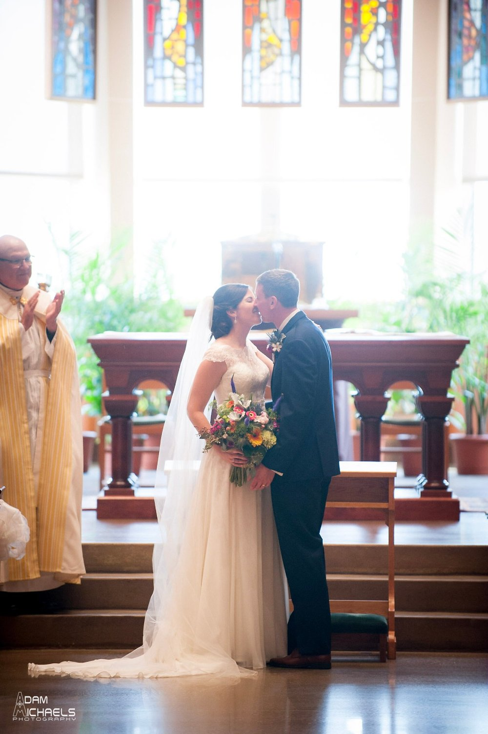 St Alexis Church Wedding Picture