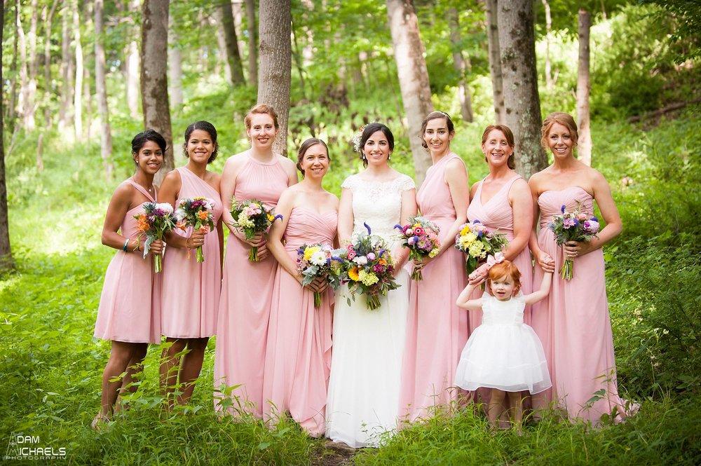 North Park Wedding Bridesmaids