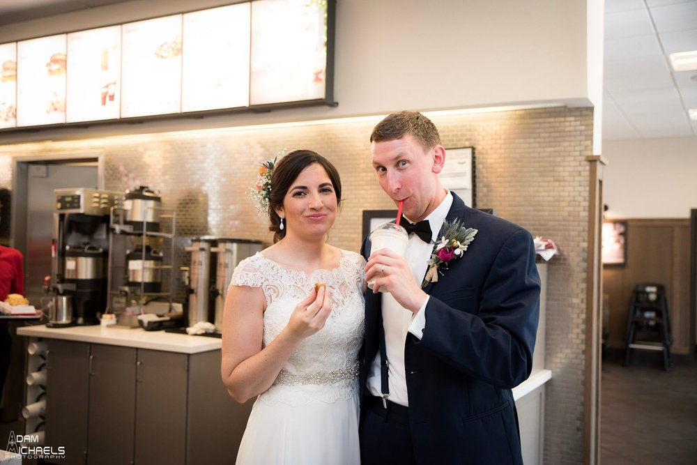 Chick-fil-a Wedding Portraits