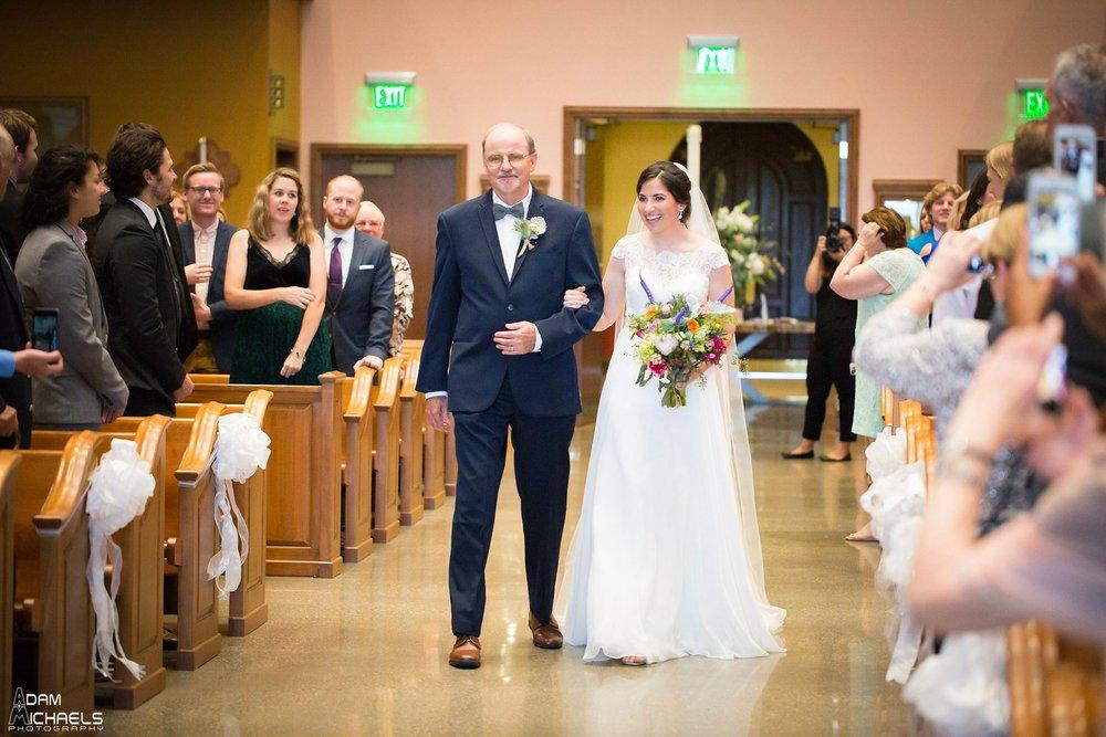 St. Alexis Church Wedding