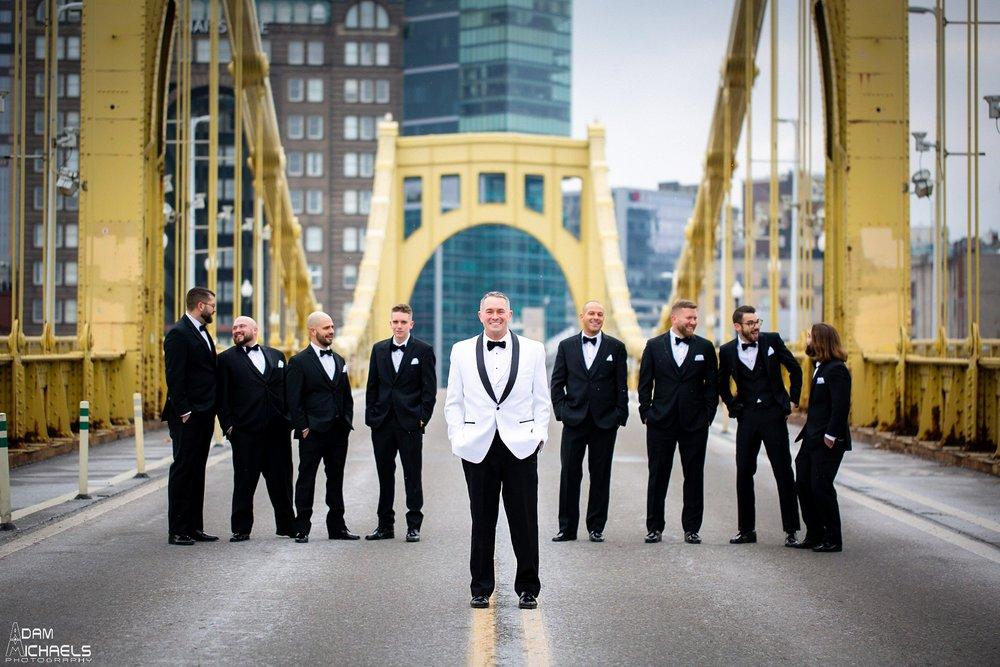 Pittsburgh Renaissance Hotel Wedding Groom Getting Ready_2887.jpg