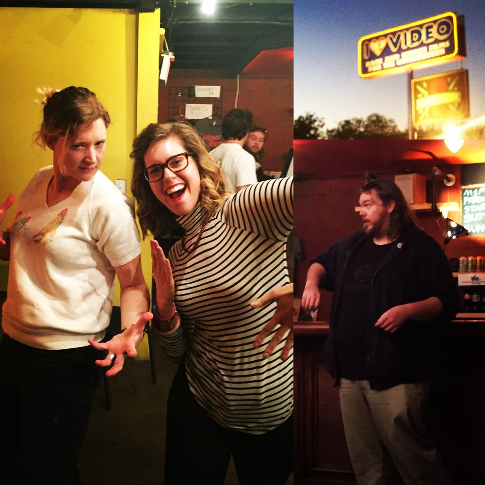 Improving our Improv at Coldtowne Theatre in Austin, TX.