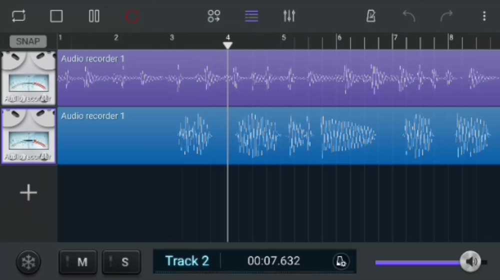 multitrack recording app android