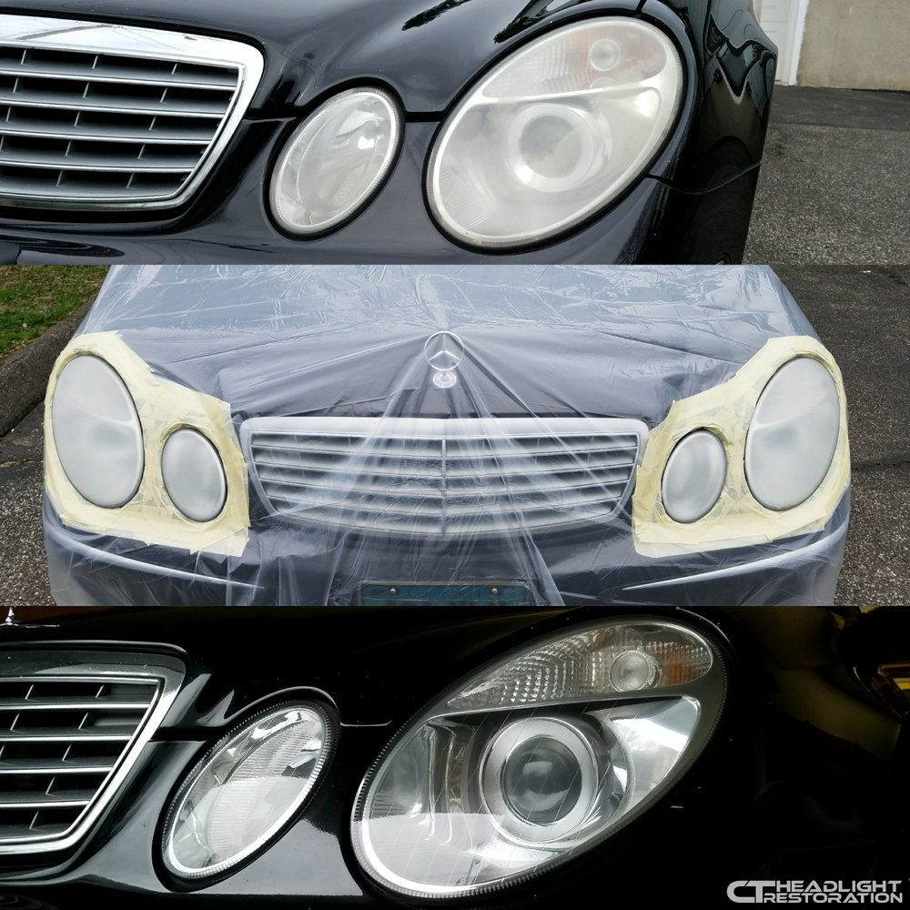 Ct Headlight Restoration Ceramic Coating Or Clear Coating What