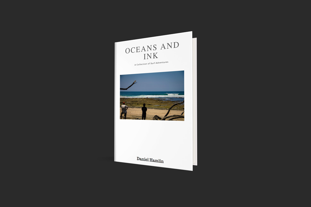 Oceans and Ink    Subscribe to the email list to receive a free download of  Oceans and Ink: A Collection of Surf Adventures .