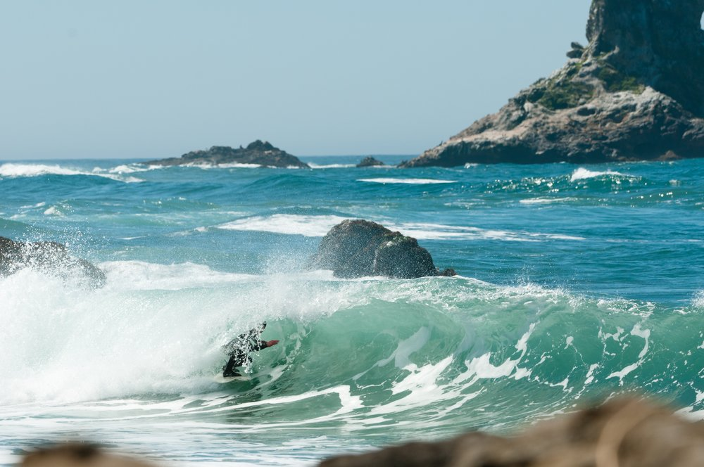 One of my favorite stretches of coastline. Photo:  Chris Burkard