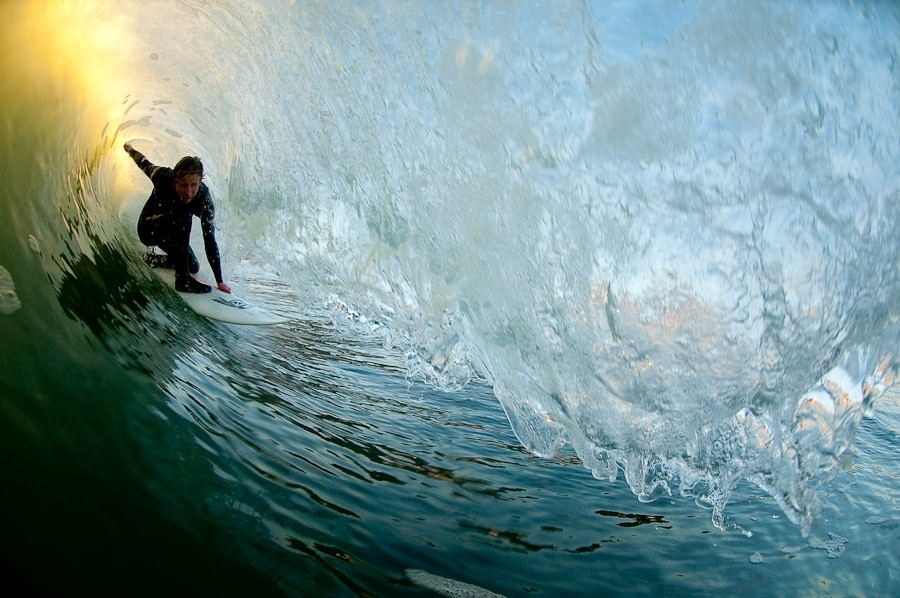 Good waves with good friends is about as good as it gets in surfing. Photo:  Chris Burkard
