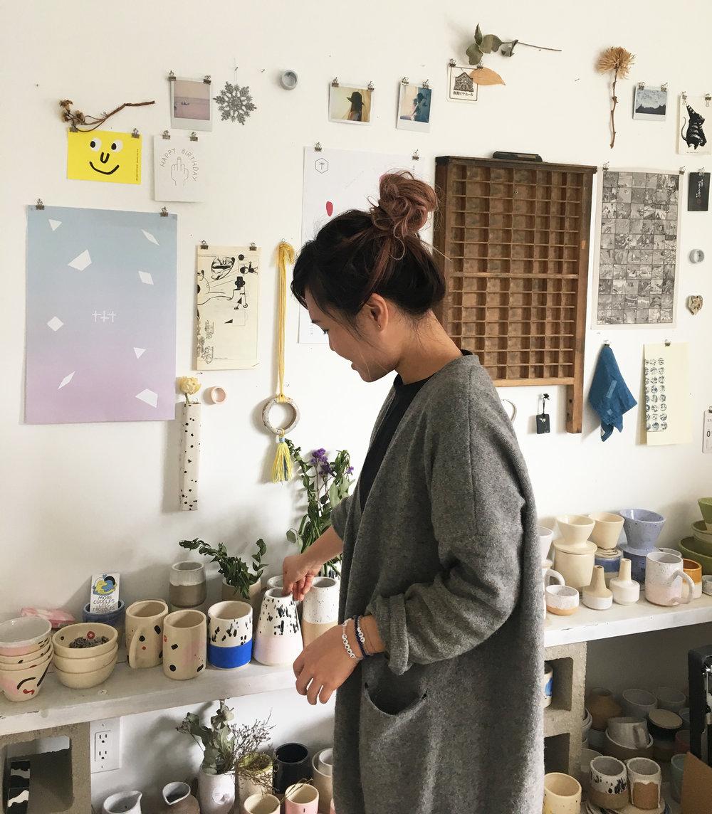 O-M Ceramics Carrie Lau