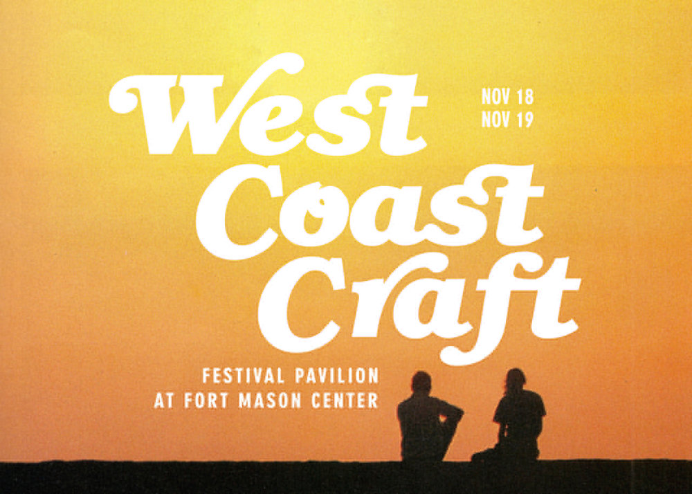 West Coast Craft  is a juried exhibition of artist and designer craftspeople inspired by the mood and aesthetics of the West Coast lifestyle.Cool but sunny, laid back yet innovative, they represent the best of West Coast craft.
