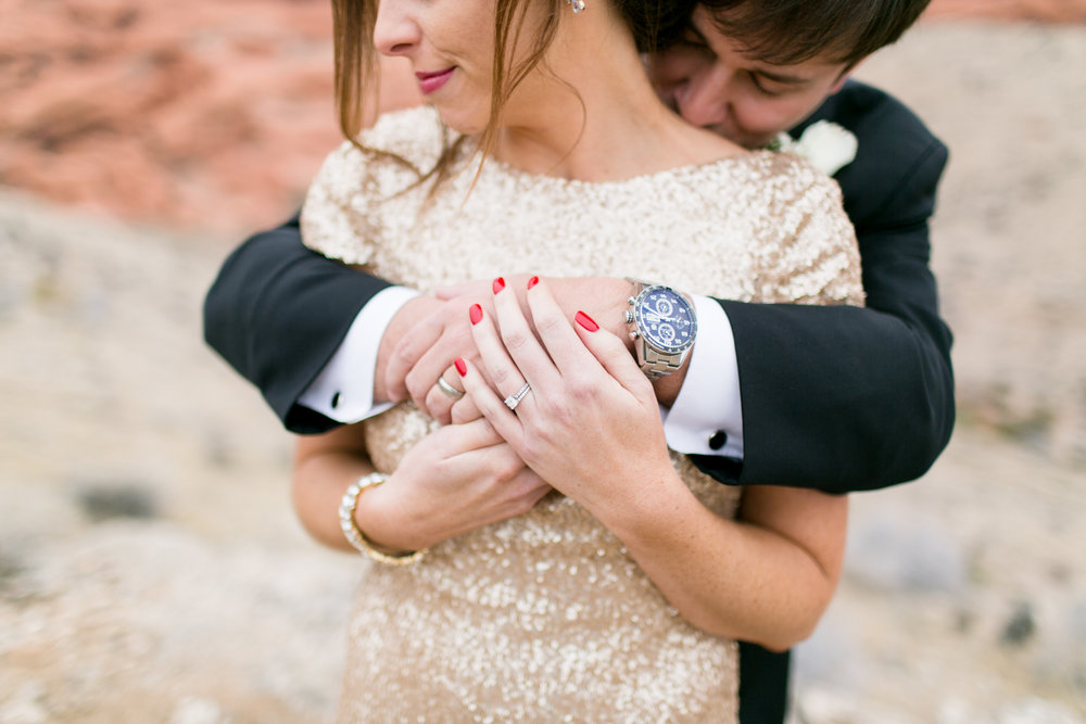 New Year's Eve Elopement- Las Vegas- Lovisa Photo