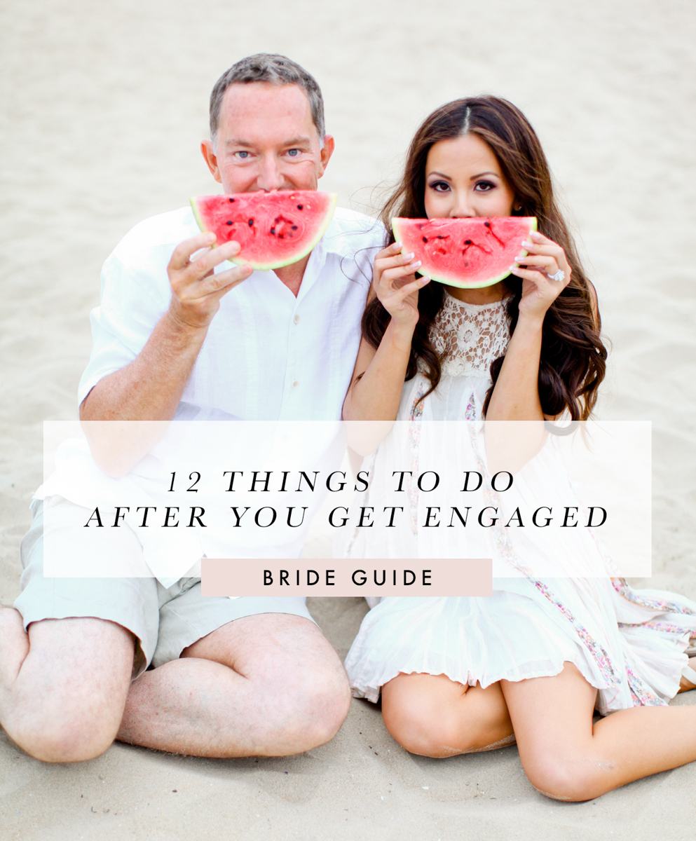 Things to do after you get engaged by Long Beach Wedding Photographer Lovisa Photo.