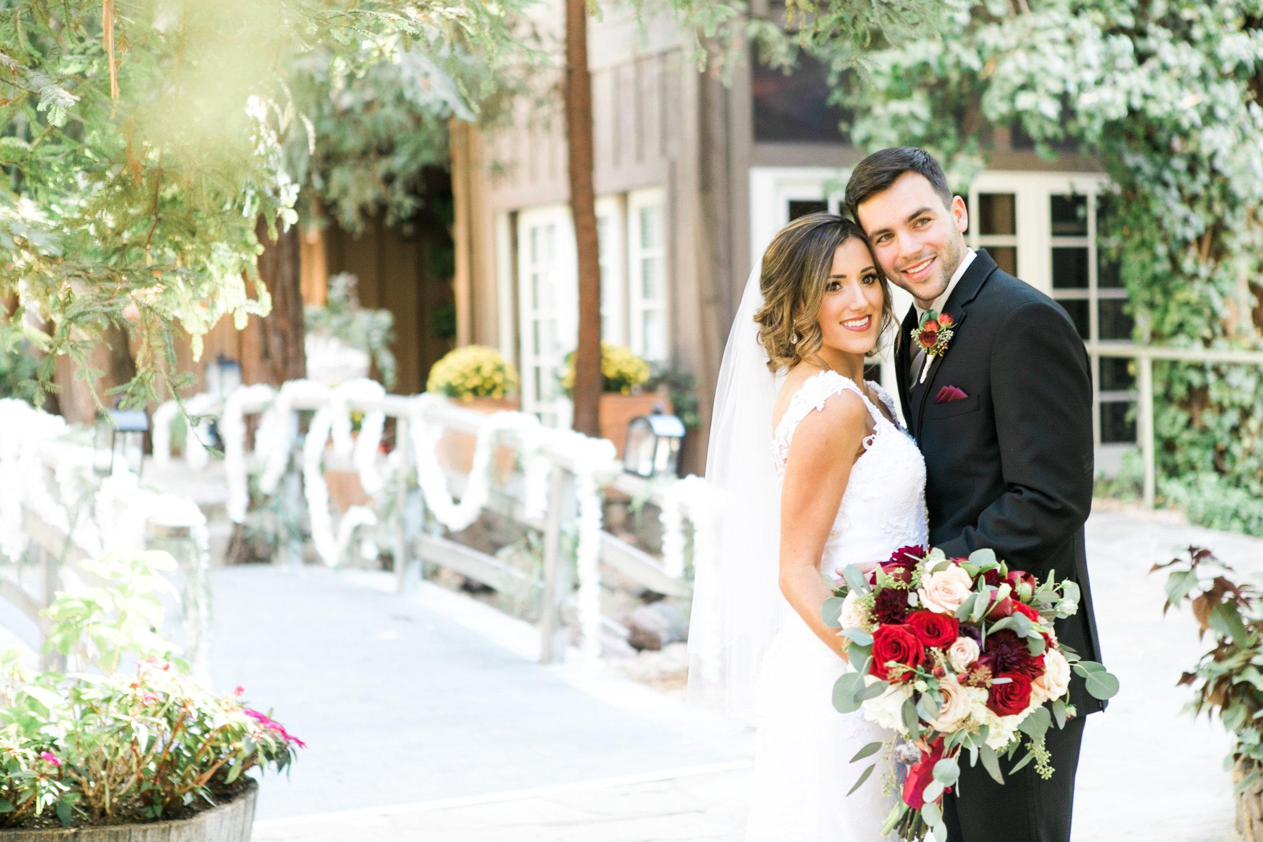 Calamigos Ranch Wedding at the Redwood Room