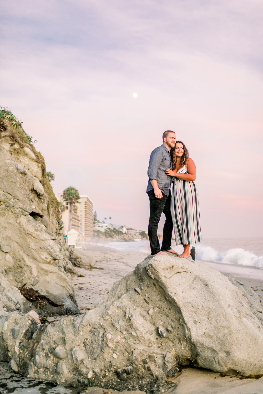 Proposal in Laguna Beach