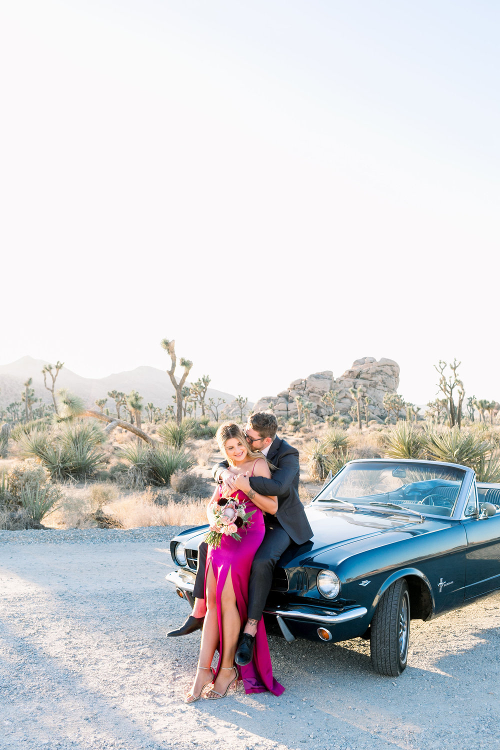 Joshua Tree Elopement Photographer- L'Horizon Palm Springs Wedding