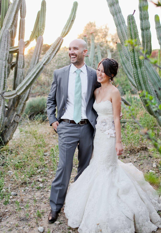 Fullerton Arboretum Wedding -