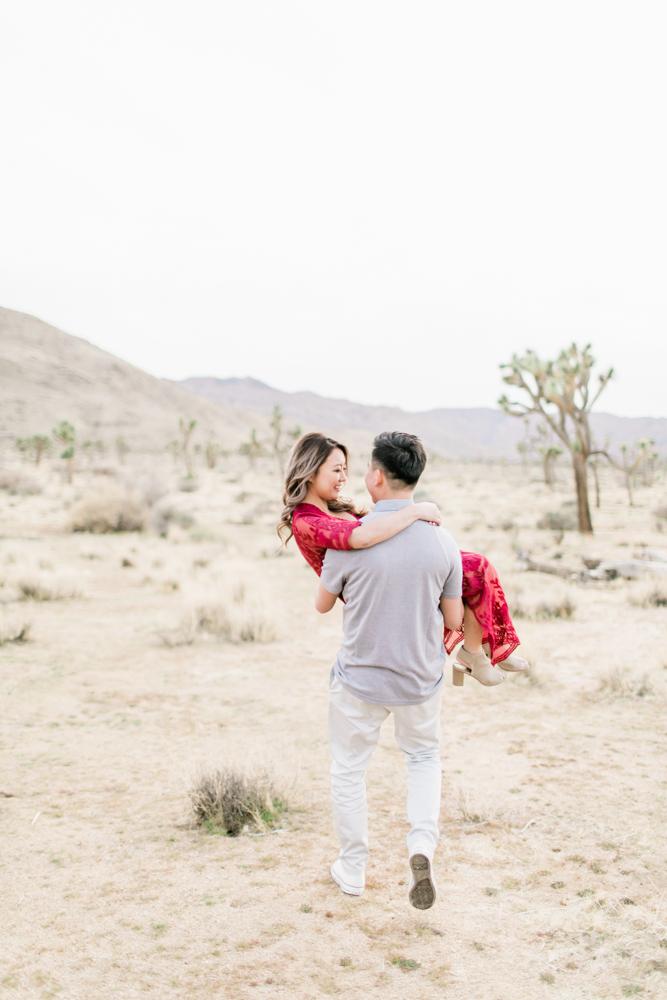 Joshua Tree Engagement Photos