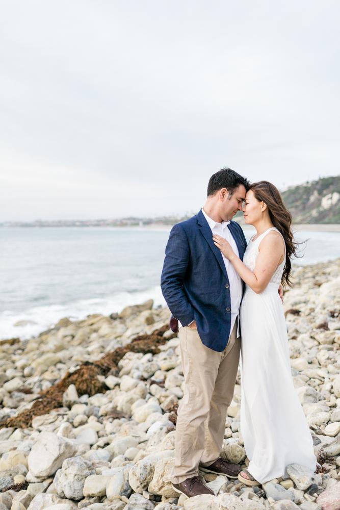 Malaga Cove Engagement Photos