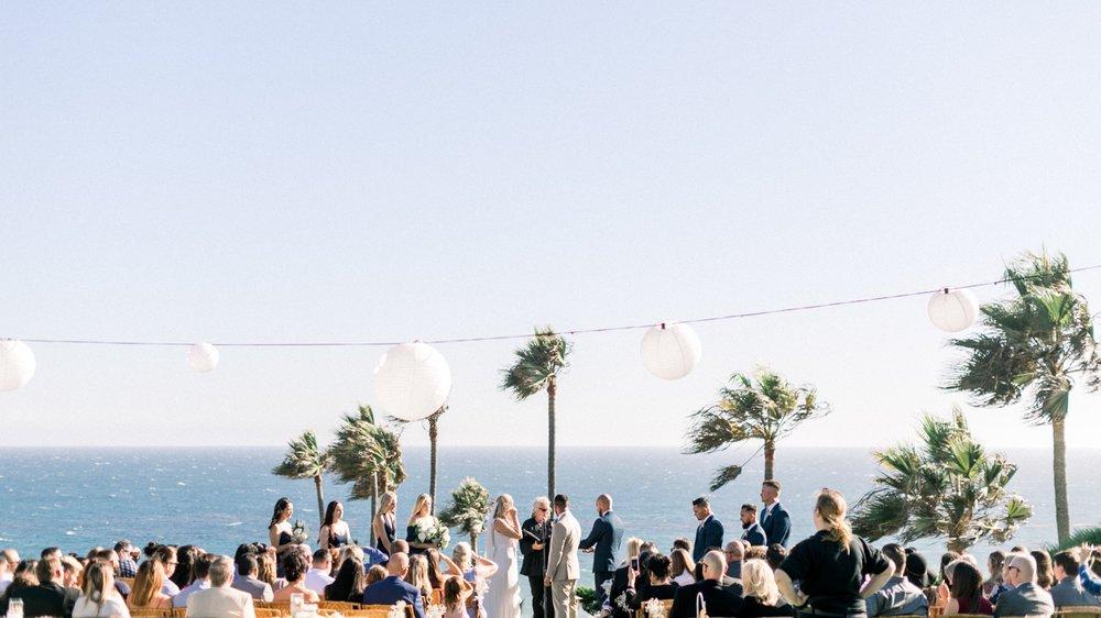 Cypress Sea Cove Wedding in Malibu