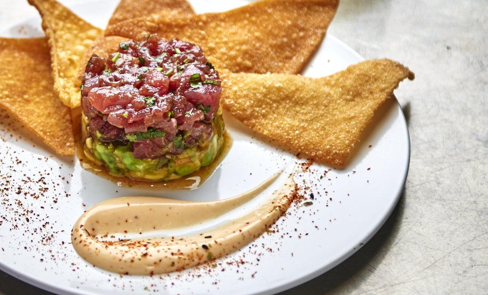 Spice Tuna Tartare
