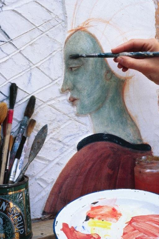 Fresco Course Italy