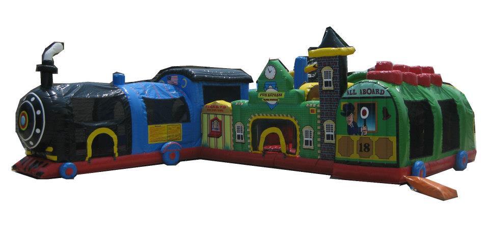 27'x20'x9' Fun Express Train                                   $325