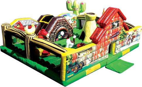 19'x16'x8' Toddler Farm Bounce   $250