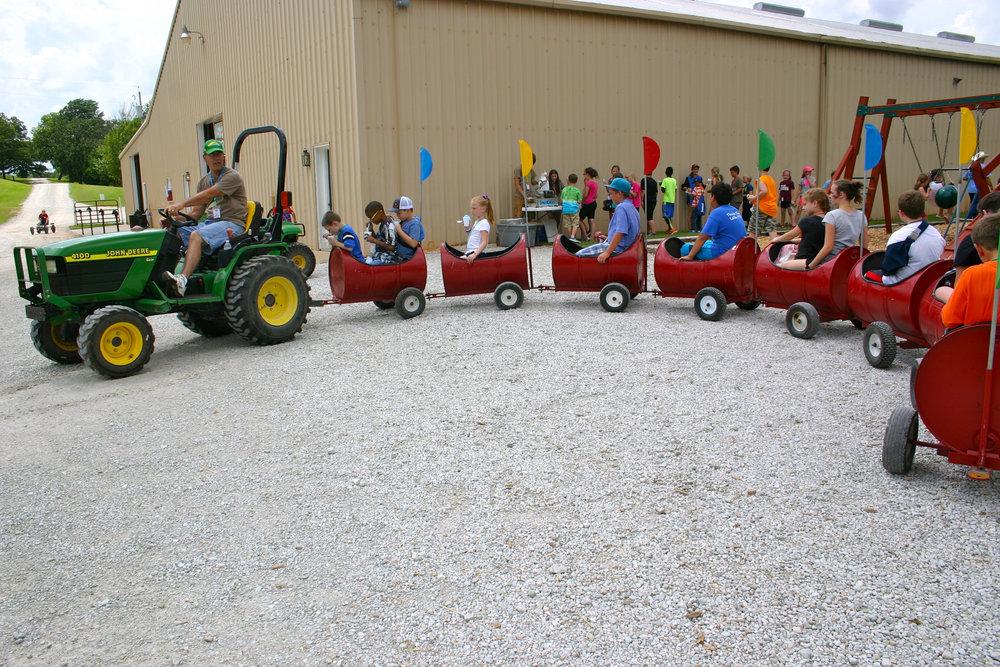 Kids' Ranch Barrel Train                                 $475