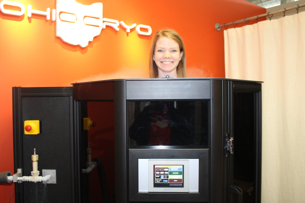 Ohio Cryo won my heart from my first visit!!! LOVE it here!! Thanks for having me!