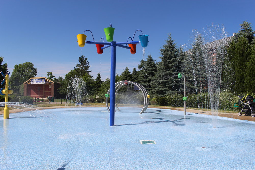 Powell Splash Pad - www.614mom.com
