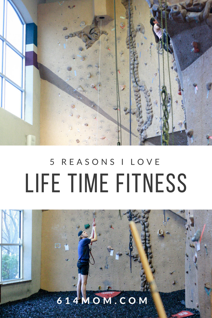 5 Reasons I Love Life Time - Fast forward three years later, I'm a member of Lifetime and have spent the last three years enjoying all the perks that Life Time has to offer.  It may sound a little silly but Life Time allows me to essentially do it all.  We've spent countless mornings at the gym so I can get my workout in, while my kids are safe and happy in the childcare area, I've enjoyed the LifeSpa, the LifeCafe (the Sunrise Smoothie is delicious), family nights, and yes, even date nights.  I'll dive into each of these a little more so you can get a feel for exactly what there is to love about Life Time.