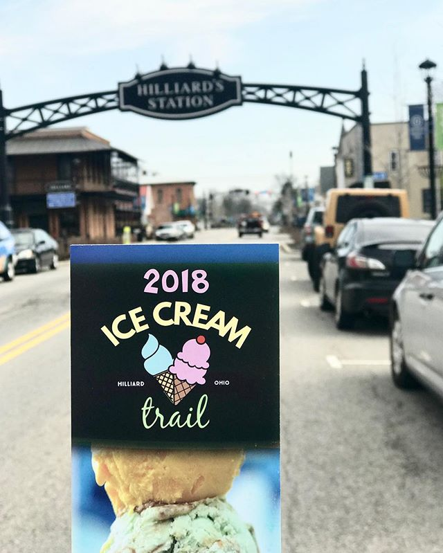 Today marks a special day in Hilliard, the launch of the 2018 Ice Cream Trail! 🍦 @ohio.findithere has announced this the year of the trail and Hilliard is doing it up right with this family favorite.🍦 🍦 How it works:  1. Pick up your passport at @destinationhilliard or one of the participating businesses.  2. Enjoy your delicious treat, pick either your favorite or a specialty treat designed just for the trail  3. Present your passport at checkout for your stamp  4. Complete your passport by visiting all 6 participating locations and getting your stamp. Pick up your prize at @coffeeconnectionshilliard 🍦🍦🍦 Participating locations: @coffeeconnectionshilliard @diamonds_icecream @whitsfrozencustard The Little Ice Cream Shop, @newgroundscoffee and @citadel.cafe 🍦  I kicked off the day with the @coffeeconnectionshilliard specialty Coffee Affogato and it was delicious. Looking forward to taking my kids on the trail over the next few weeks! They are going to love it!