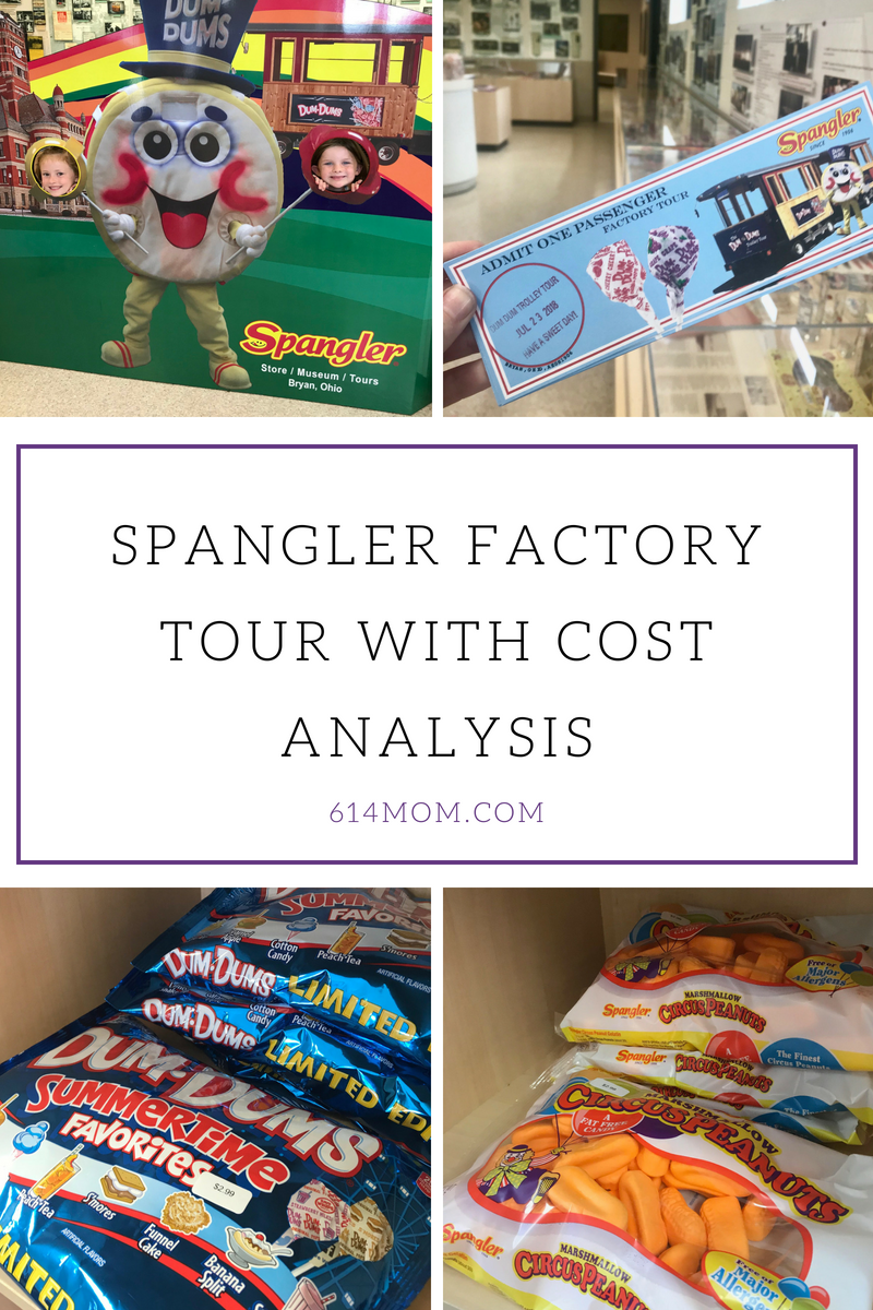 spangler factory tour