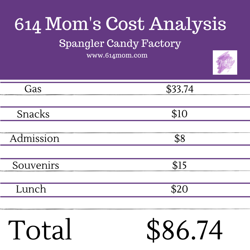 candy factory cost