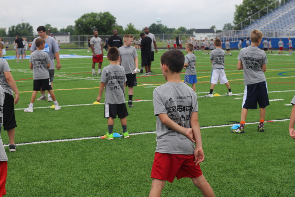 joshua perry football clinic