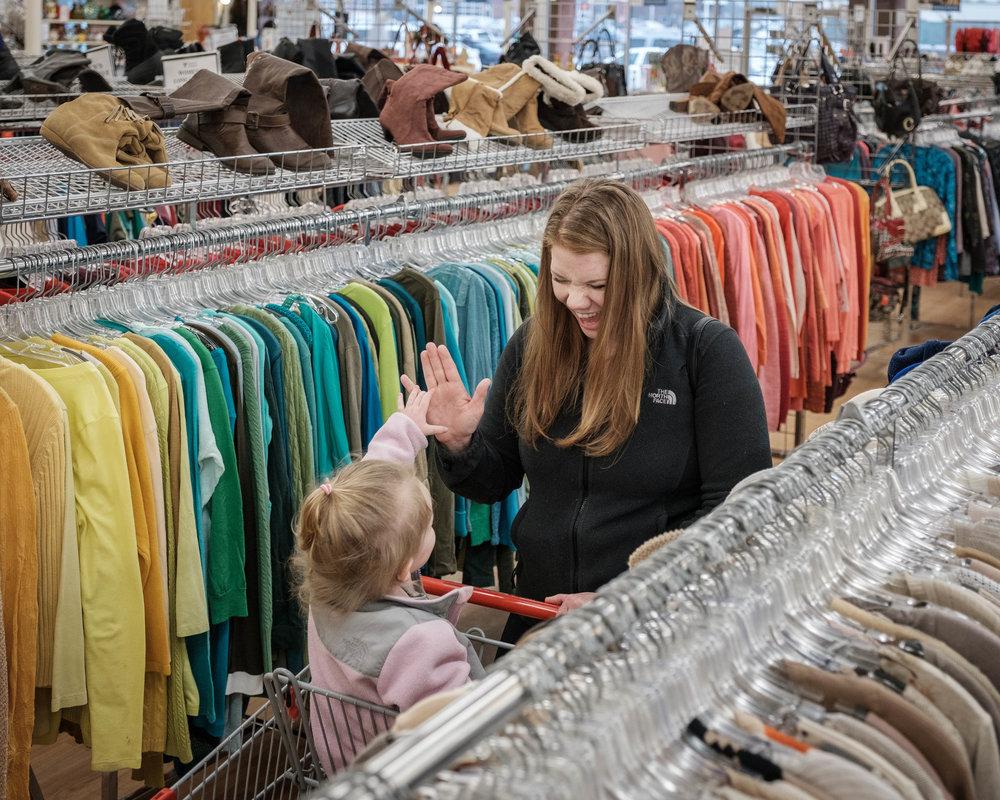 volunteers of america thrift shop