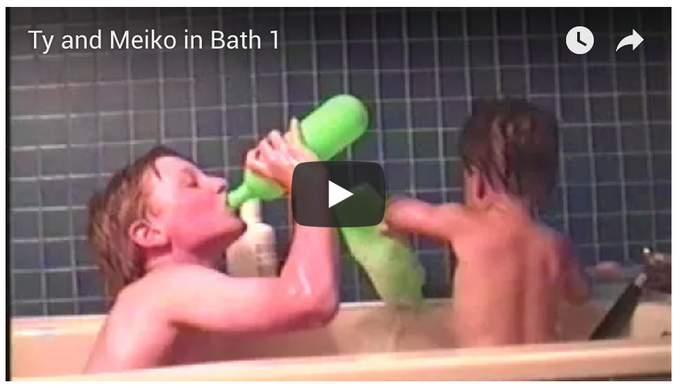 Ty and Meiko Bath #1