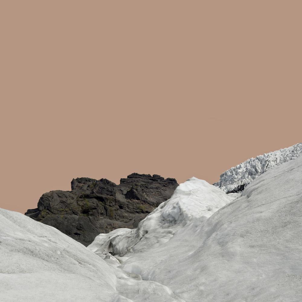 Glacier with Pink Sky / Svinafellsjokull  2012-13