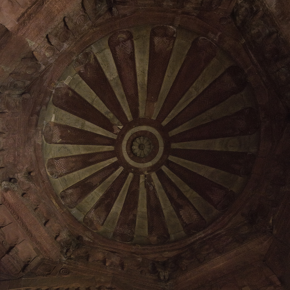 Dome / Agra Fort   2015