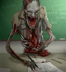 Teacher Zombie