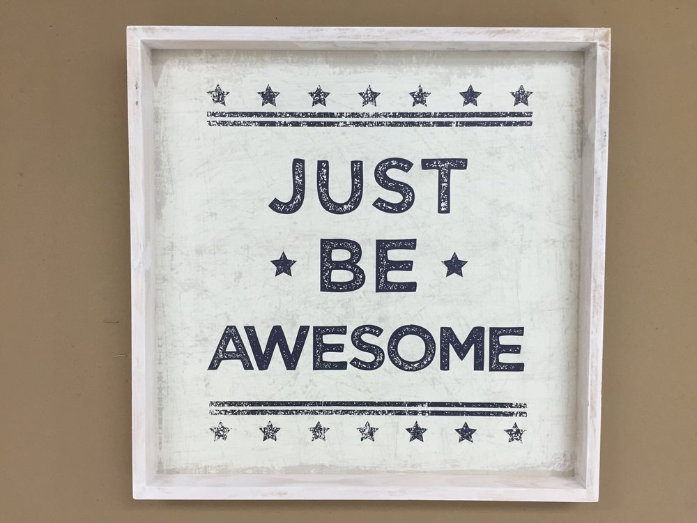 Class Rules: Just Be Awesome